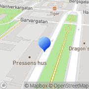 Karta Swegon AB Stockholm, Sverige