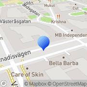 Karta Studio Zanzibar Stockholm, Sverige