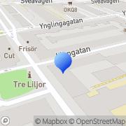 Karta Österberg Investment Stockholm, Sverige