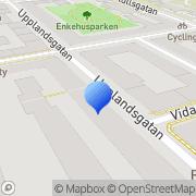 Karta Hällsjö Education Stockholm, Sverige