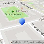 Karta Integrating Love Institute HB Stockholm, Sverige