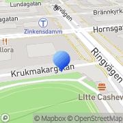 Karta Advokatfirman Kerstin Koorti AB Stockholm, Sverige