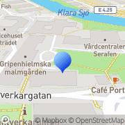Karta Triple N Stockholm, Sverige