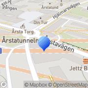 Karta ICA Supermarket Årsta, Sverige