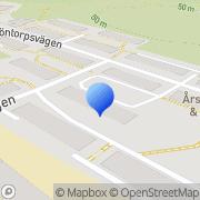 Karta Dg Creative Software & Support Årsta, Sverige