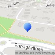 Karta Stockholms läns Ungdomsskytteförbund Täby, Sverige