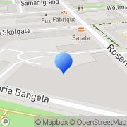 Karta Svenska Tändsticksbolaget Försäljningsab Stockholm, Sverige