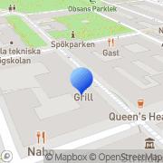 Karta Ktectwo AB Stockholm, Sverige