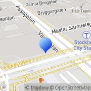 Karta Espresso House Stockholm, Sverige