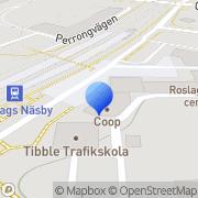 Karta Coop Nära Täby, Sverige