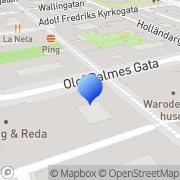 Karta Pan Capital Stockholm, Sverige