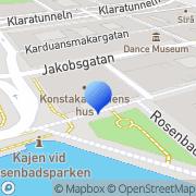 Karta Kungliga Akademien För De Fria Konsterna Stockholm, Sverige