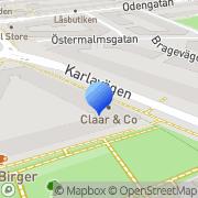Karta Winblad Ord&Bild Stockholm, Sverige