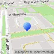 Karta Agerstig Byggkonsult Stockholm, Sverige