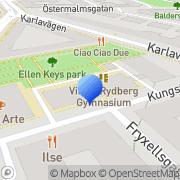 Karta VRE Education AB Stockholm, Sverige