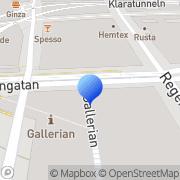 Karta Denim For Girls Stockholm, Sverige