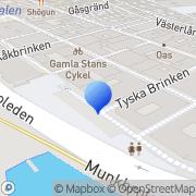 Karta Cmw Produktion Stockholm, Sverige