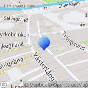 Karta Kbt City Svenska AB Stockholm, Sverige