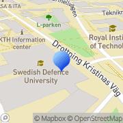 Karta Utrikespolitiska Institutet Stockholm, Sverige