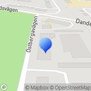Karta D M S Colorprint Djursholm, Sverige