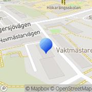 Karta Focotech Svenska AB Nybygget, Sverige