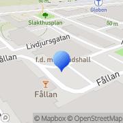 Karta Korvservice i Stockholm AB Årstaskog, Sverige