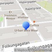 Karta Falkhammar, AB Eric Stockholm, Sverige