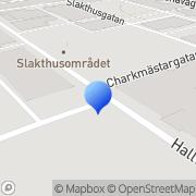 Karta Gourmet Food AB Årstaskog, Sverige