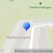 Karta Antes Montage Nybygget, Sverige