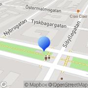 Karta Revivekliniken Stockholm, Sverige