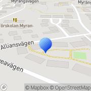 Karta Connecta Industrigummi Täby, Sverige