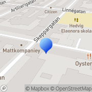 Karta Rehband Center Stockholm, Sverige