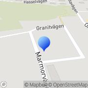 Karta Stina Fritz Vallentuna, Sverige