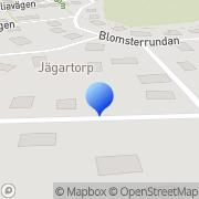 Karta Harpans Kraft Västerhaninge, Sverige