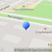 Karta Fallhornet AB Stockholm, Sverige