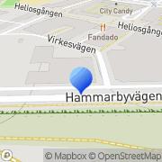Karta Kaffevision i Sverige AB Stockholm, Sverige