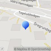 Karta Bostadsrättsföreningen Oporto Nr 3 Stockholm, Sverige