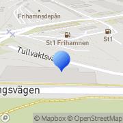 Karta Stockholms Containertjänst Stockholm, Sverige