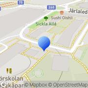 Karta Monika Norman Marknadsföring & Utbi Nacka, Sverige