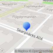 Karta Michel Wenzer Produktion Nybygget, Sverige