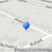 Map LABRAX s.r.o. Nesvady, Slovakia