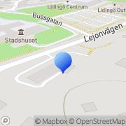 Karta Comel Lidingö, Sverige