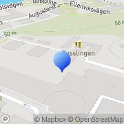 Karta Nacka Strand el & Inredningsprojektering Lilla Nyckelviken, Sverige