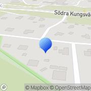 Karta Webdisplay Stockholm Lidingö, Sverige