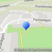 Karta Arkay - Software Services Lidingö, Sverige