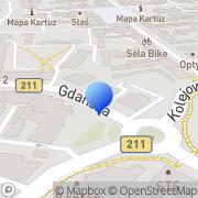 Mapa Kartgeo Kartuzy, Polska