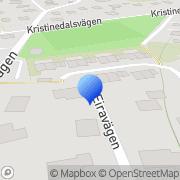 Karta Carl-Johan Petri AB Nacka, Sverige