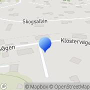 Karta Value Position AB Lännersta, Sverige