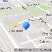 Map Derive Ostrava, Czech Republic