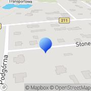 Mapa Gold Silver Metal Technik Ltd. Borowo, Polska